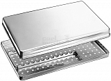 NORM-Tray of stainless-steel