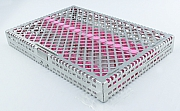 Steri-Wash-Tray 280x190x34mm Silikone pink