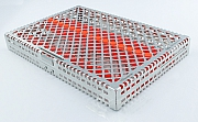 Steri-Wash-Tray 280x190x34mm Silikone orange