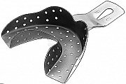 Impression tray Ehricke perforated lower jaw