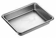 General purpose tray stainless 235 x 190 x 40mm