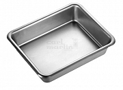 General purpose tray stainless 240 x 160 x 30mm