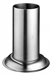 Storage tube stainless 70 x 130mm