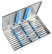 Micro-surgery basic tray in SteriWash Tray 3013