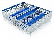 Steri-Wash-Tray 190x140x34mm 10 instr. - siliconas luz azul
