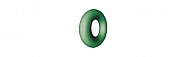 LiquidSteel colour code rings green - 3mm - 100 pcs.