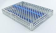 Steri-Wash-Tray 280x190x34mm Silicones light blue