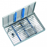 Tray for periodontal surgery in Tray 3013
